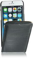 "iPhone 6/6S (4,7"") Flip Leder Tasche (Matador-Black-2) Handytasche Hülle Case"
