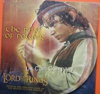2003 Lord Of The Rings New Zealand Brilliant Uncirculated $1 One Dollar Coin Set