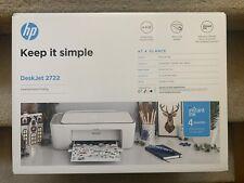 New ListingShips Today! Brand New Hp DeskJet 2722 All-in-One Wireless Color Inkjet Printer