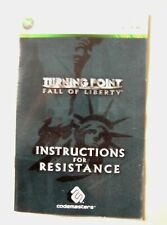 54619 manual de instrucciones-Turning Point Fall of Liberty-Microsoft Xbox 360 (