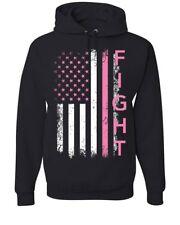 Fight Breast Cancer Hoodie Pink Ribbon Awareness Sweatshirt