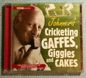 BBC Audio CD 'Johnners' Cricketing Gaffes, Giggles and Cake' 2013