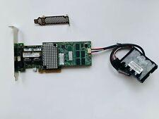 IBM M5016 Controller Raid SAS/SATA PCIe 6GB 1G cache +BBU Battery =M5110 9265-8I