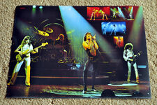 Queen poster A Night At The Opera '75 On Stage 19 x 13 Poster RaRe