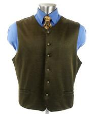 BARACUTA Suit Vest Waistcoat Sz. XL Gold & Black Speckled Made in USA