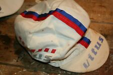 Vintage Vitus Cycling Cap, Well Loved. Blue and Red - Bike Hat