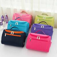 Lady Large Make Up Bag Vanity Case Cosmetic Nail Tech Storage Beauty Box
