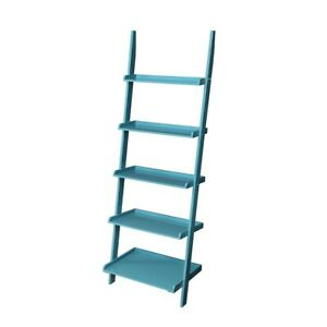 Convenience Concepts French Country Bookshelf Ladder, Blue - 8043391BE
