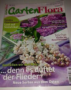 GartenFlora 5/2012 Flieder Salatkalender Schnecken Teich Nostalgieblüher