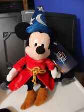 Especially for Disney World Sorcerer Mickey bean bag plush figure-New-w/Tags