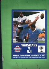 #VV1.  RUGBY UNION PROGRAM -  WARATAHS V FIJI  17th May 1992