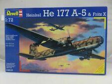 Heinkel He 177 A-6 Greif & Fritz X Revell 1 # 04306 With Bonus Decals