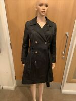 Debenhams Collection Black Jacket Overcoat - UK ladies Size 14
