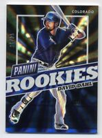 2017 Panini National DAVID DAHL Rookie Card RC RAINBOW SPOKES REFRACTOR #/25 SP