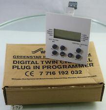 Worcester Twin Channel Digital Programmer 7716192032 Greenstar HE Combi