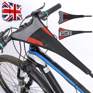 Road Bike Bicycle Frame Guard Strap Net Catcher Turbo Trainer Sweat Cover Belt H