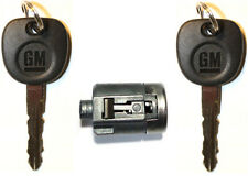 NEW GMC GM OEM Door Lock Cylinder With 2 GM Logo Keys - MADE IN USA