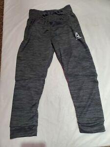 Reebok Kids Active Jogger Pants Charcoal Size 6 NWT