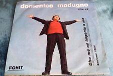 45 giri - DOMENICO MODUGNO, CHE ME NE IMPORTA A ME - BELLISSIMA          11/16
