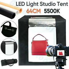 Photo Studio 64CM LED Light Tent Cube Lighting Box Photography Backdrop Room Bag