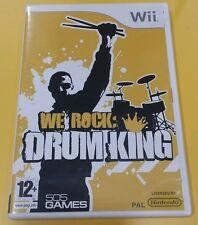 We Rock Drum King GIOCO WII VERSIONE ITALIANA