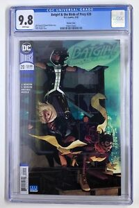 DC's Batgirl and the Birds of Prey #20 Adam Hughes Variant CGC 9.8