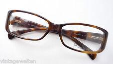 Calvin Klein edle Damenbrille Hornoptik braun Fassung Flexbügel mit Logo Gestell