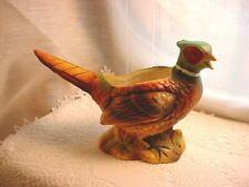 Vtg Pheasant Planter Inarco Ceramic Woodsy Vtg Japan