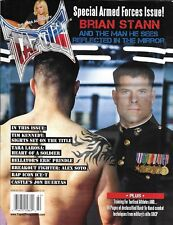 Tapout Mma Magazine Brian Stann Special Armed Forces Issue Tactical Athletes