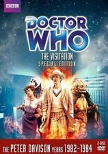 Doctor Who 5th Dr The Visitation Special Edn 2-dvd Set but Unsealed Reg 2