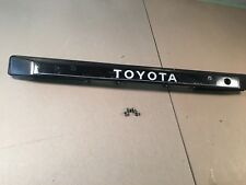 1986 1987 1988 1989 OEM Toyota VAN Model F tailgate trim license light handle