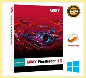 АВВУУ Fine Reader Corporate 15 Full Version ✅ lifetime activation