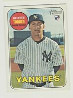 2018 Topps Heritage High Number #603 GLEYBER TORRES RC Rookie QTY AVAILABLE