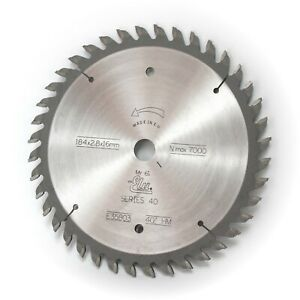 Elu E35803 184mm x 16mm 40T TCT Circular Saw Blade Fine Cut Wood & Laminates