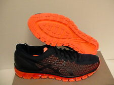 Asics gel quantum 360 cm island blue hot orange men running shoes size 12 us