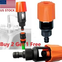 Kitchen Mixer Tap To Garden Hose Pipe Connector Adapter Universal Outdoor!