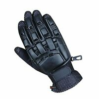 Full Finger Tactical Paintball Armour Plastic Airsoft Hunting War Games Gloves