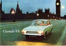 Ford Corsair V4 1967 UK Market Small Format Brochure De Luxe 2000 2000E Estate
