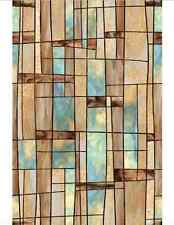 Home Privacy Glass Window Film Decorative Stained Etched Modern UV Artscape City