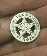 Unusual Cool <> LAPEL BADGE PIN <> Texas Ranger Co. A <>  Pin for lapel or tie