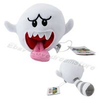 """Game Super Mario Bros Boo Ghost 10cm/4"""" Soft Plush Doll Toy Brand New"""