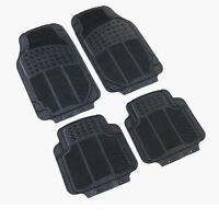 Rubber PVC Car Mats Heavy Duty 4pcs No Smell fits SAAB 9-3 9-4 9-5 97 900 9000