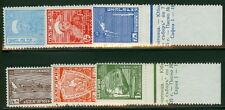 BULGARIA #273-8 Complete set w/tabs, og, NH, VF, Scott $290.00
