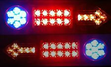 Trailer/Tray Back Ute 12V LED 4FunctionTail Lights Pair