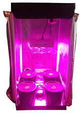 4 Site Hydroponic Grow Room - Complete Grow Tent - 300w LED Grow Light with IR!!