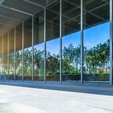 High Performance One Way Mirror Window Film Mirrored Privacy Glass Solar Silver