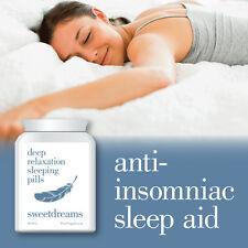 SWEET DREAMS DEEP RELAXATION SLEEPING PILL – ANTI INSOMNIAC SLEEP ALL NIGHT