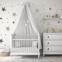 Colorful Stars Polka Dots Vinyl Sticker Wall Nursery Baby Room Decor Art Murals