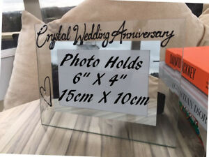 15th Wedding Anniversary Picture Photo Frames