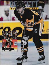 Beckett Hockey Magazine, Issue #11 September 1991 Jaromir Jagr On Cover